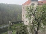 The castle at Pieskowa Skala
