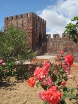 Moorish gardens in Silves Castle