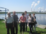 My Polish family, lakeside at Bełchatów power station