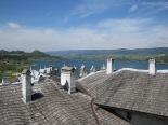 The rooftops of Niedzica Castle