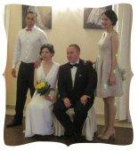 Ula at the wedding